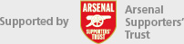 Arsenal Fanshare is supported by Arsenal Supporters Trust