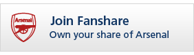 Join Fanshare and own your share of Arsenal